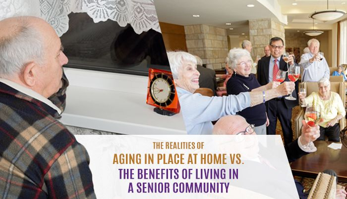 The Benefits of Aging in Place at Home vs The Benefits of Living in a Senior Community